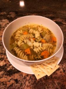 chickpea noodle soup
