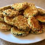 summer vegetable zucchini crisps