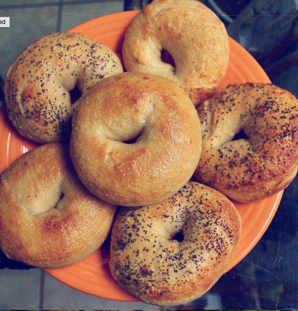 nutty bagels