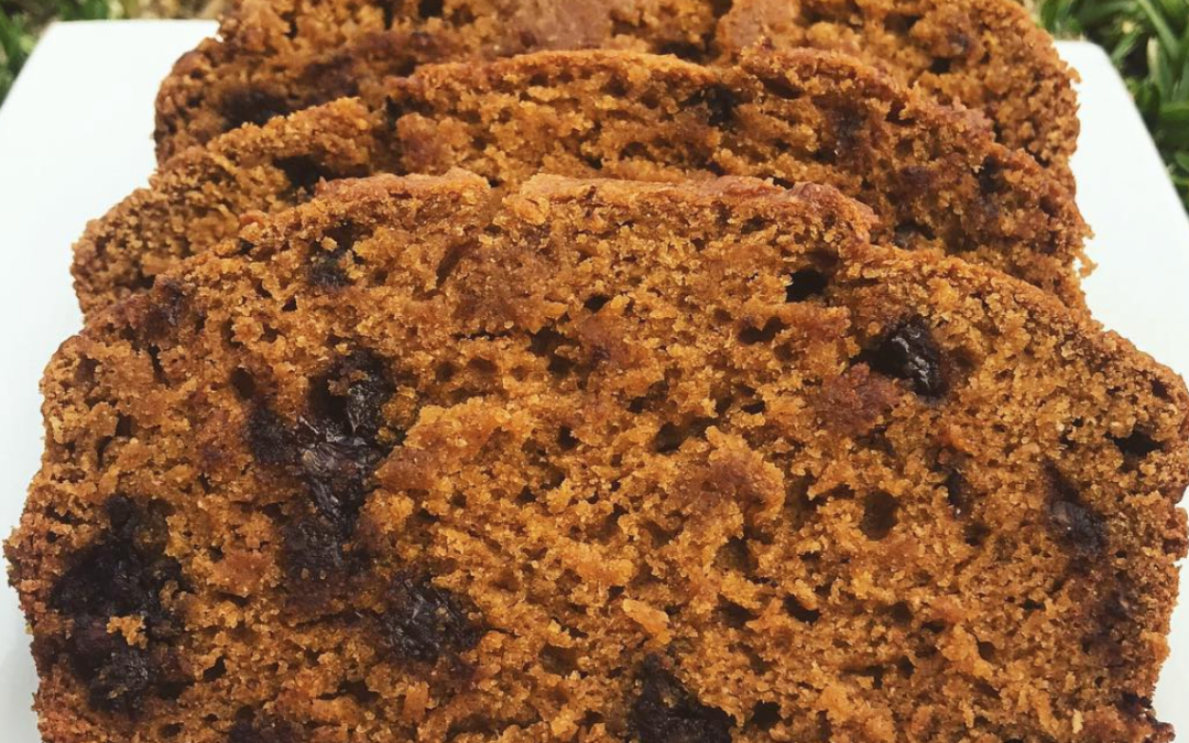 Raisin Pumpkin Spice Bread