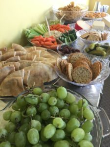diabetes-friendly party food