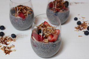 diabetes friendly chia seed pudding
