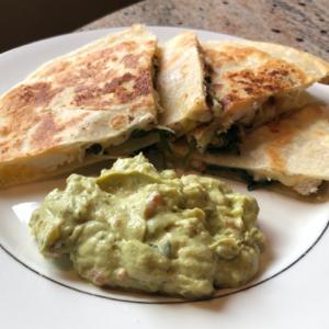 Cilantro Lime Chicken Quesadillas