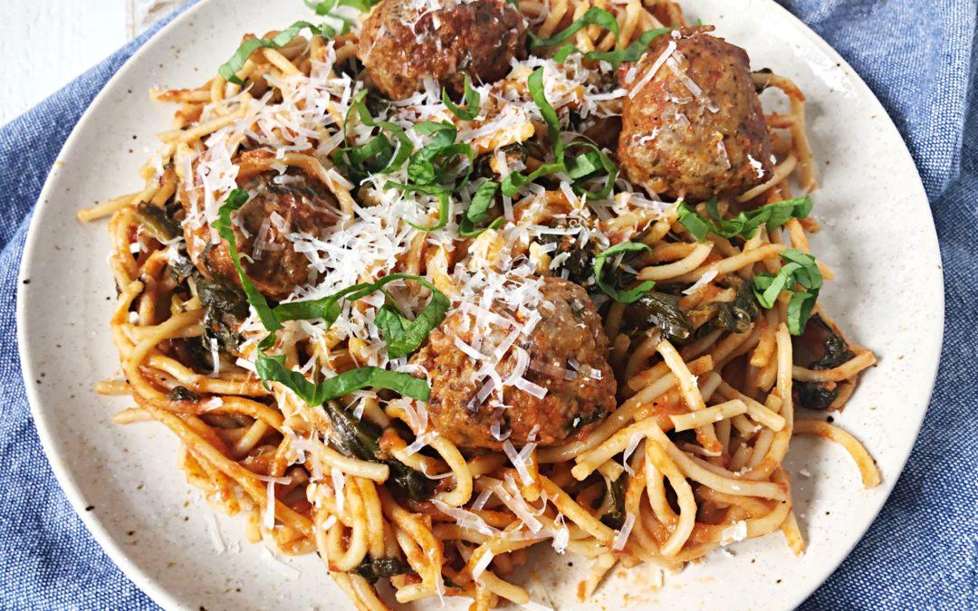 1 Pan Spaghetti and Meatballs