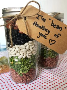 vegetarian bean soup diy gift