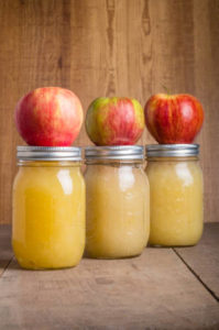 apple sauce diy gift jar