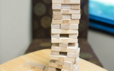 Support Group Activities Promote Laughter and Learning With Customized Jenga