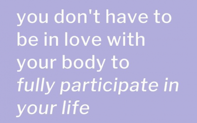 Positive Body Image vs Body Positivity