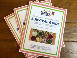 food allergy cookbook