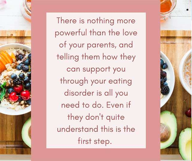 Eating Disorder Treatment Tips for Parents during Mealtimes