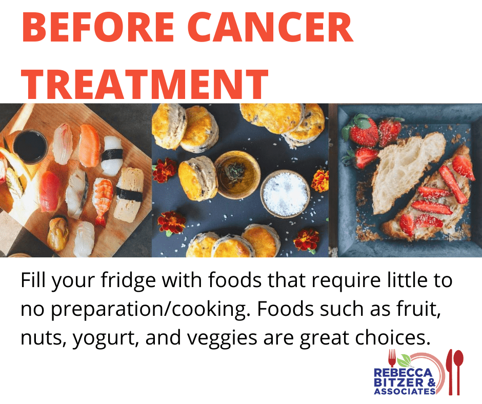 foods that taste good during chemo