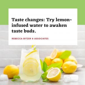 Awaken taste buds with lemon