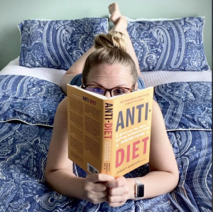 Kristin Jenkins reading Anti-diet