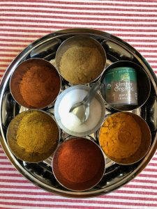 spices for root vegetable stew