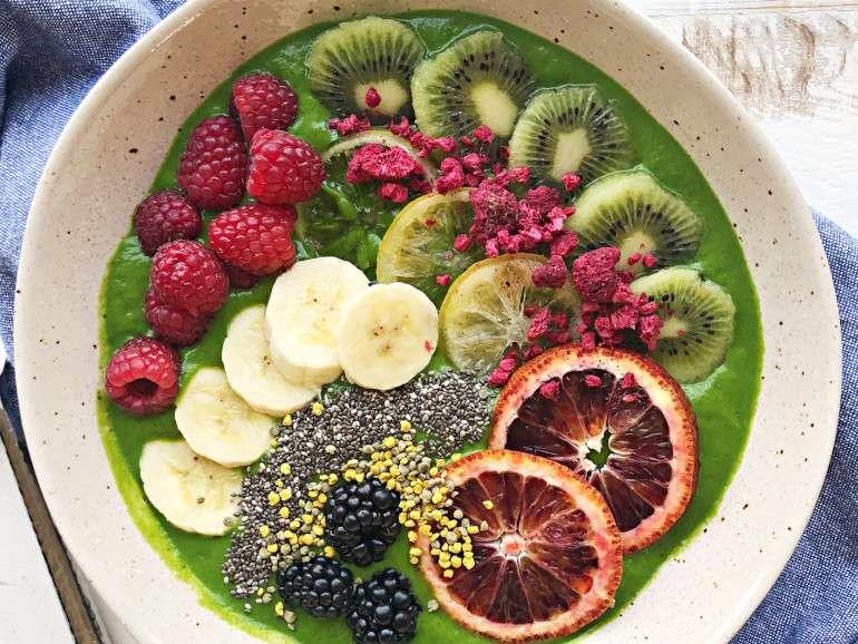 green smoothie high protein vegan