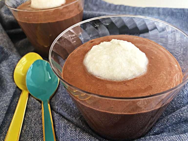 vegan protein snack pudding