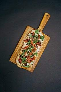 Flatbread is a good food substitute