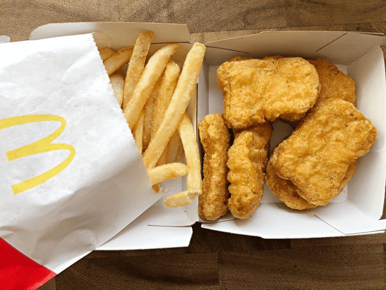 diabetes mcdonalds chicken nuggets